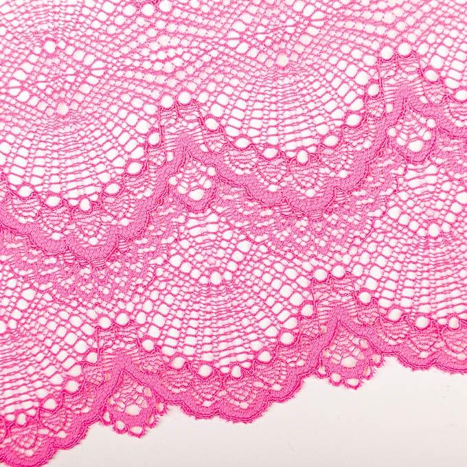 elastische Spitze in pink