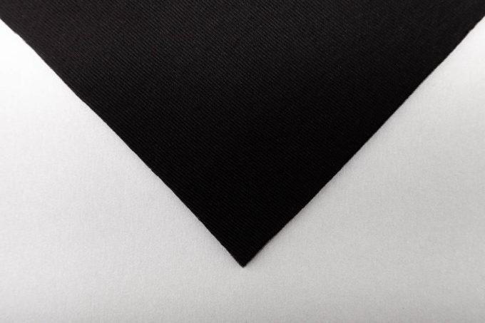 Schaumstoff Laminat schwarz