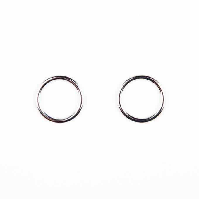 ringe silber metall für bh träger