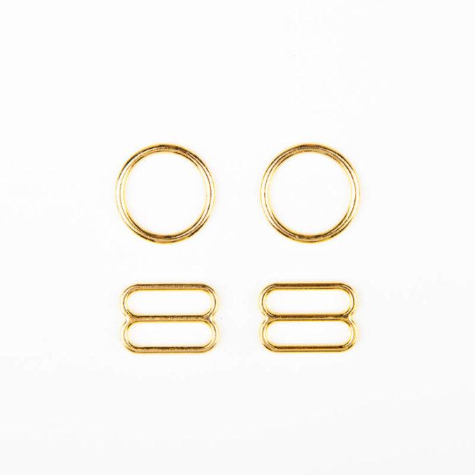 ringe schieber metall gold