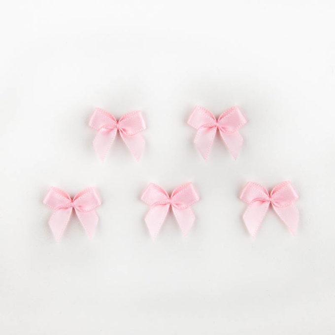 Satinschleife rosa