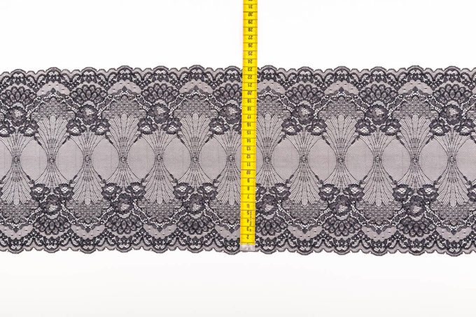 elastische spitze schwarz schimmer