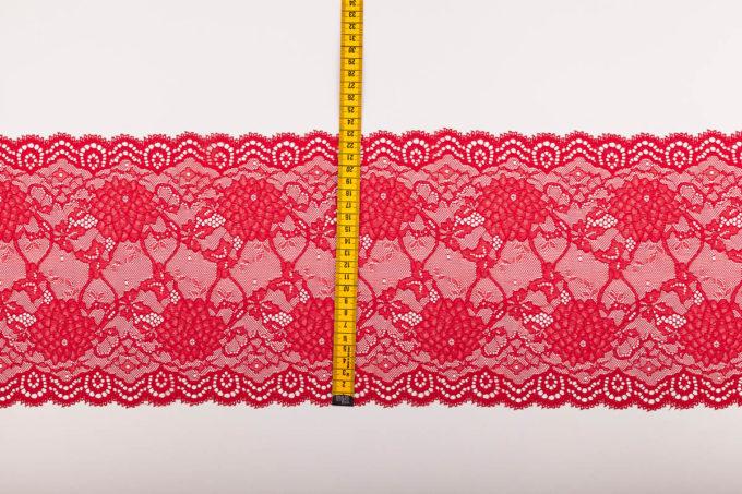 elastische Spitze rot