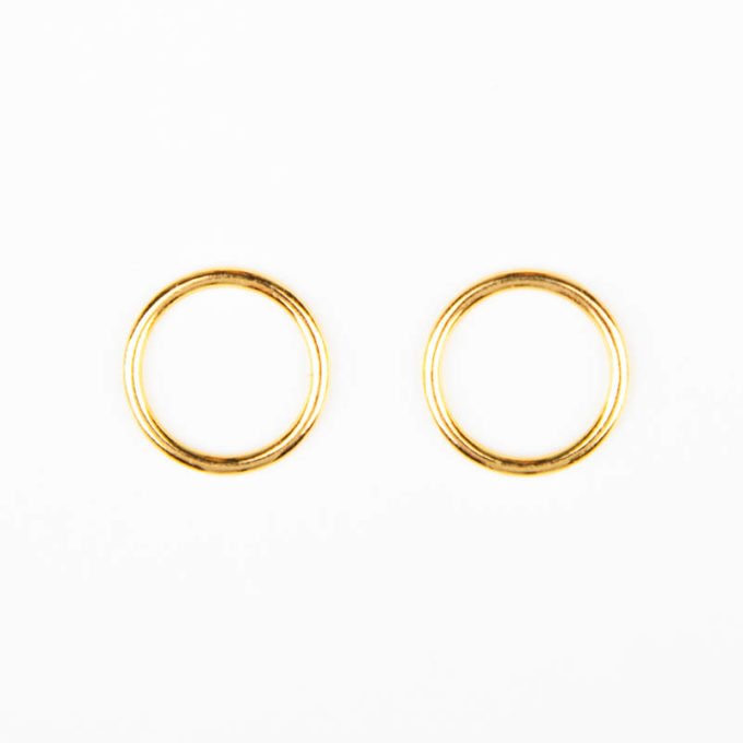 ringe metall gold