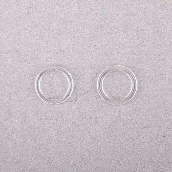 ringe plastik durchsichtig klar