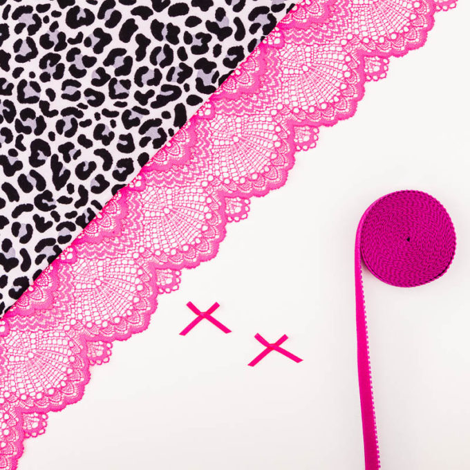 Panty Cleo Materialpaket Spitze mit Jersey