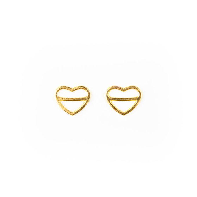 Schieber Metall 12mm gold