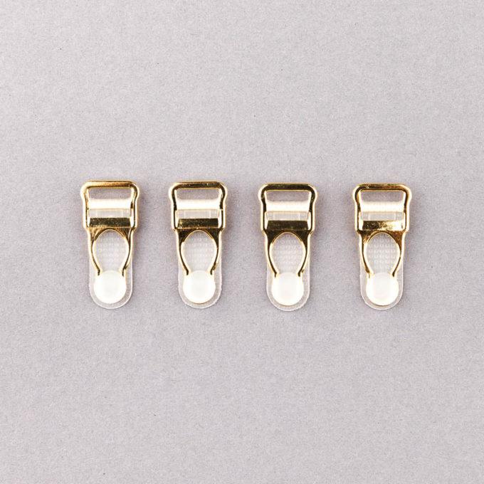Strapshalter velvets gold metall