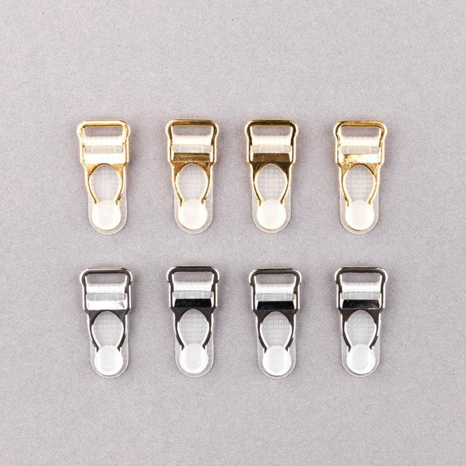 Strapshalter velvets silber gold metall